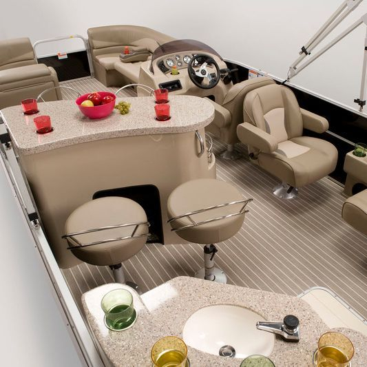 Enjoy our luxury 11 passenger pontoon boat on Okanagan Lake.