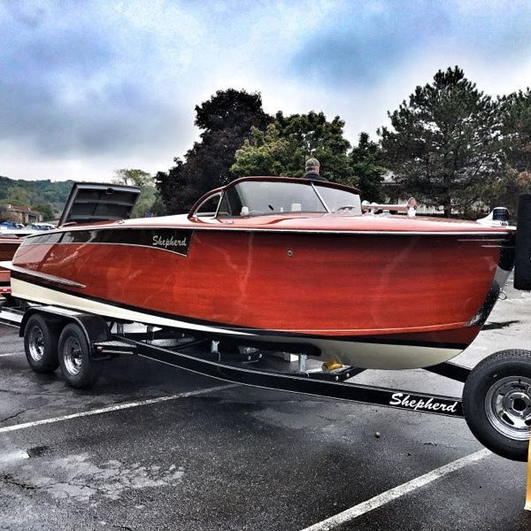 custom built shepherd at shepherd boat co