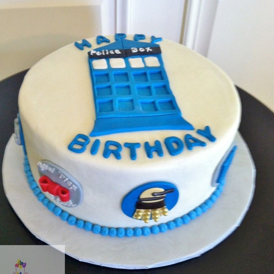 Dr. Who Birthday Cake