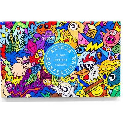 Everything But The Kitchen Sink Postcard Chocolate Bar