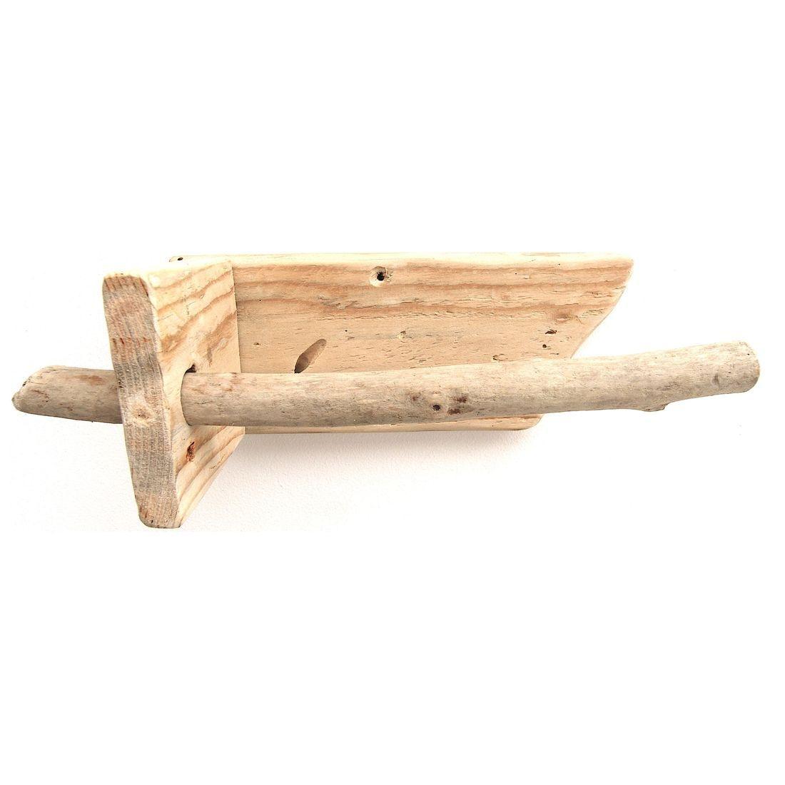 Driftwood toilet roll holder 4