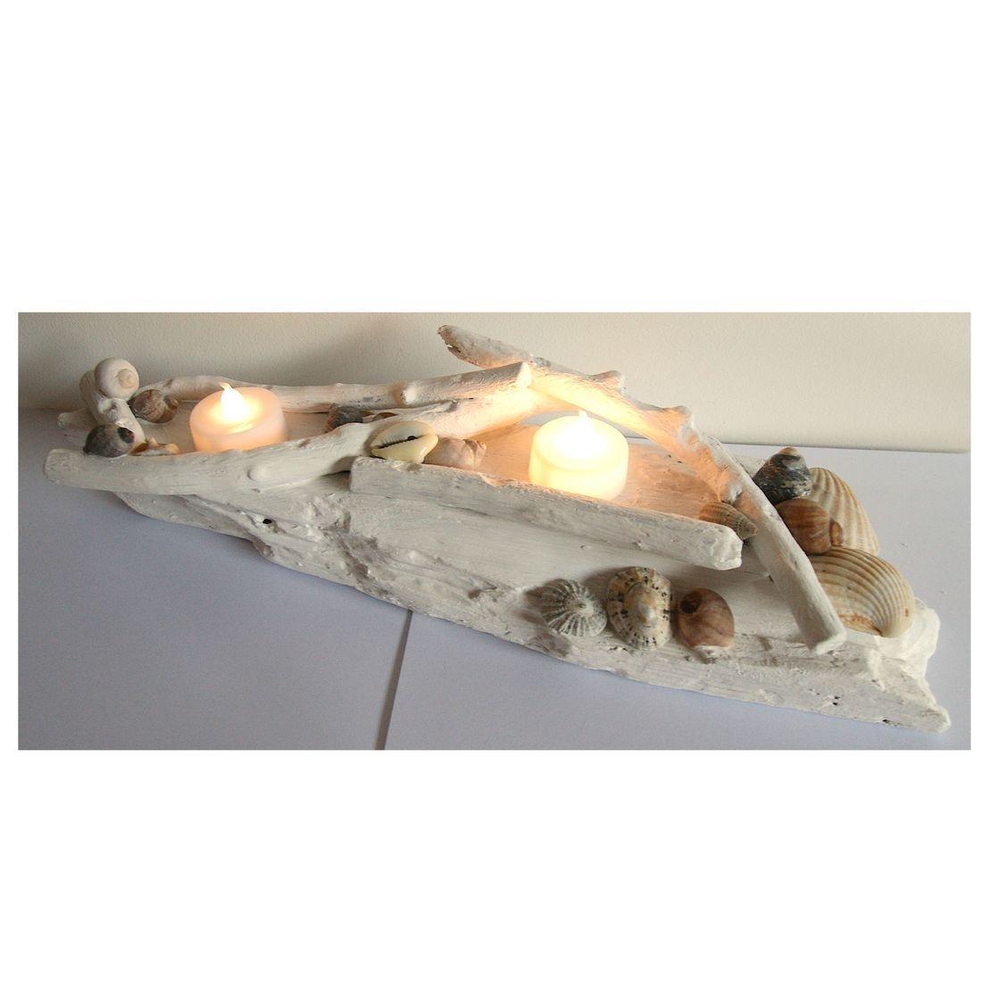 Driftwood large candle tea light holder 6