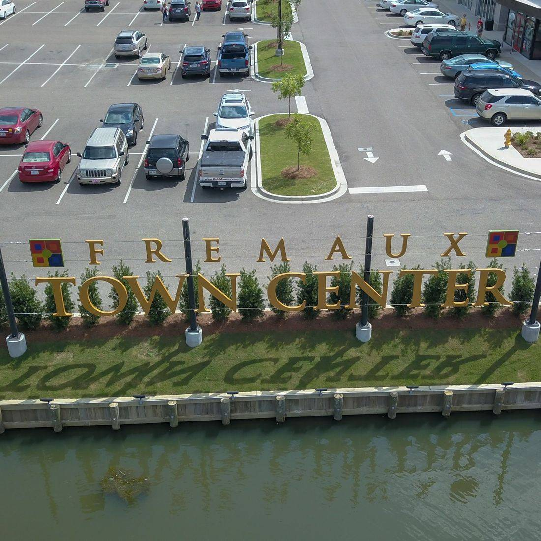 Front Entrance Of The Fremaux Town Center In Slidell,LA