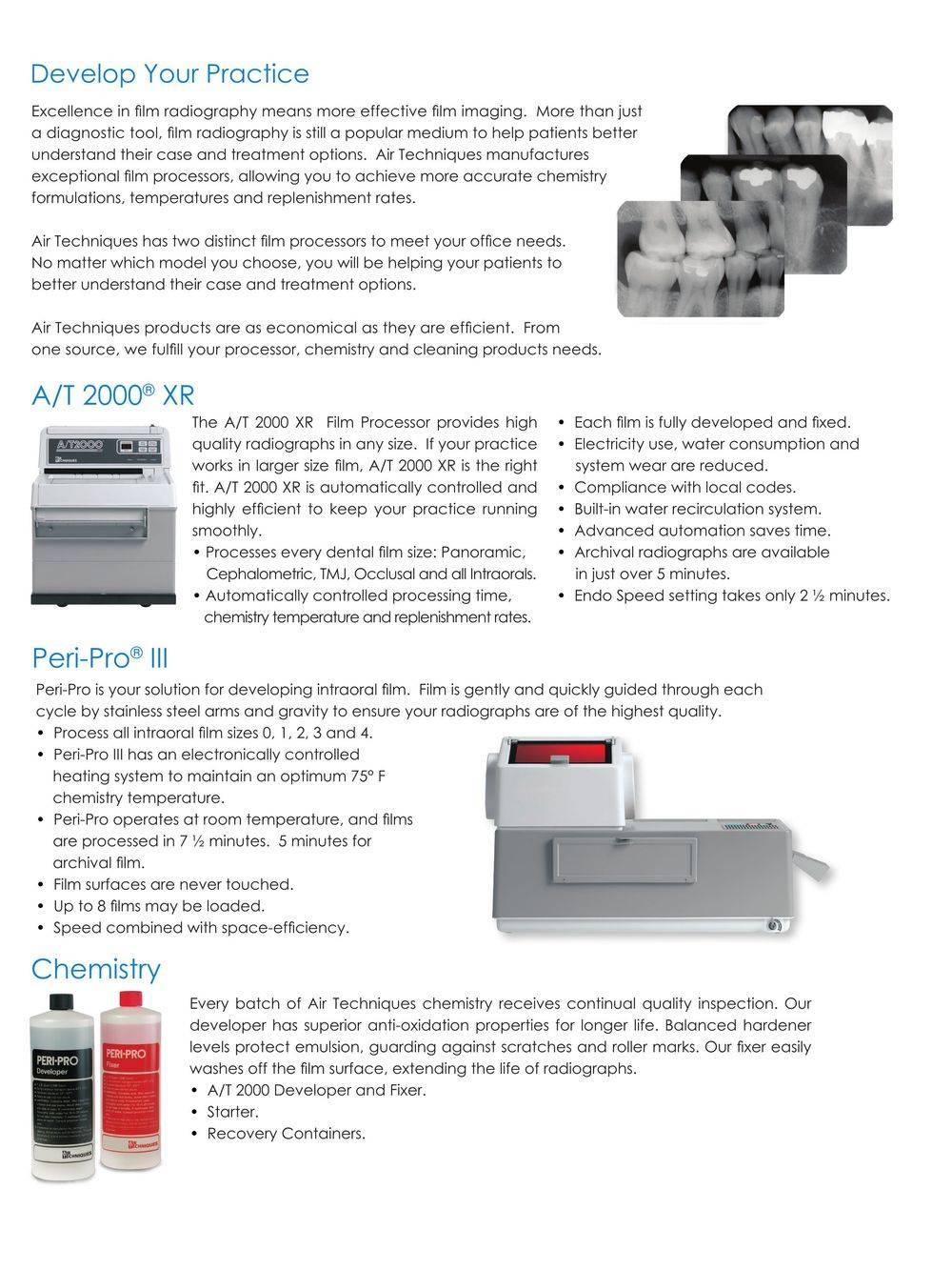 Air Techniques Film Processor Brochure Page 2
