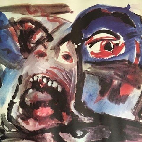 Ernest Pignon, poster, Paris, 1968