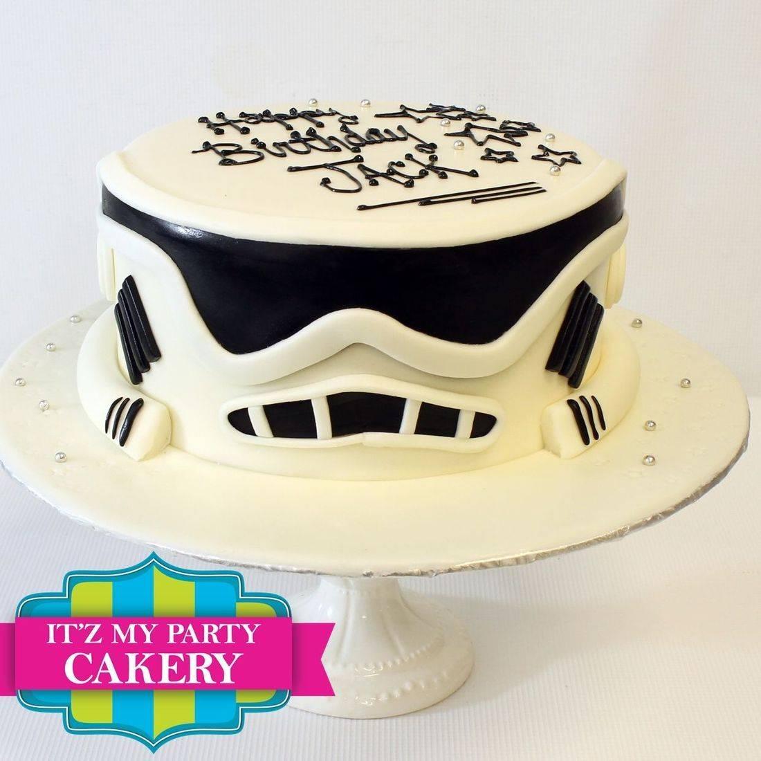 Custom Storm trooper Cake Milwaukee