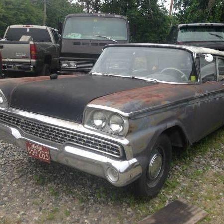 1959 Foes Galaxie 500