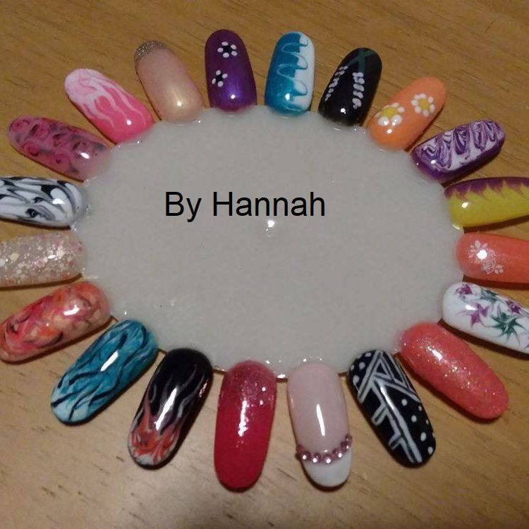 a selection of Nail Art for beginners designs