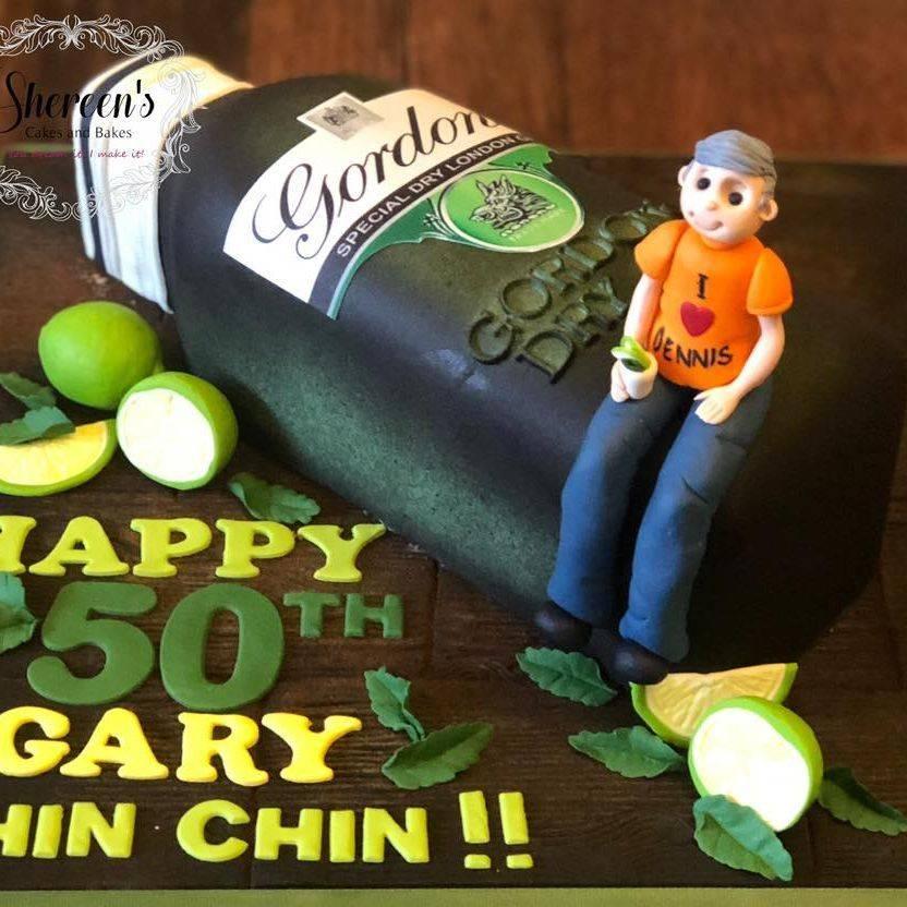 Gordon's Gin Cake