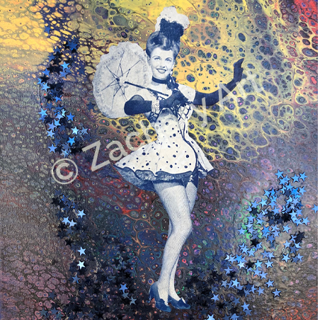 Acrylic Mixed Media Original Art