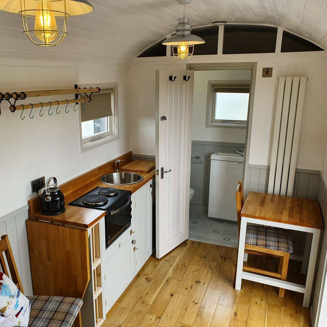 Cromarty Hut Interior