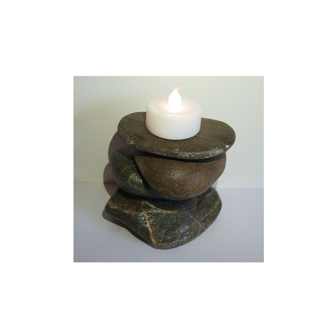 Driftwood candle tea light holder 15