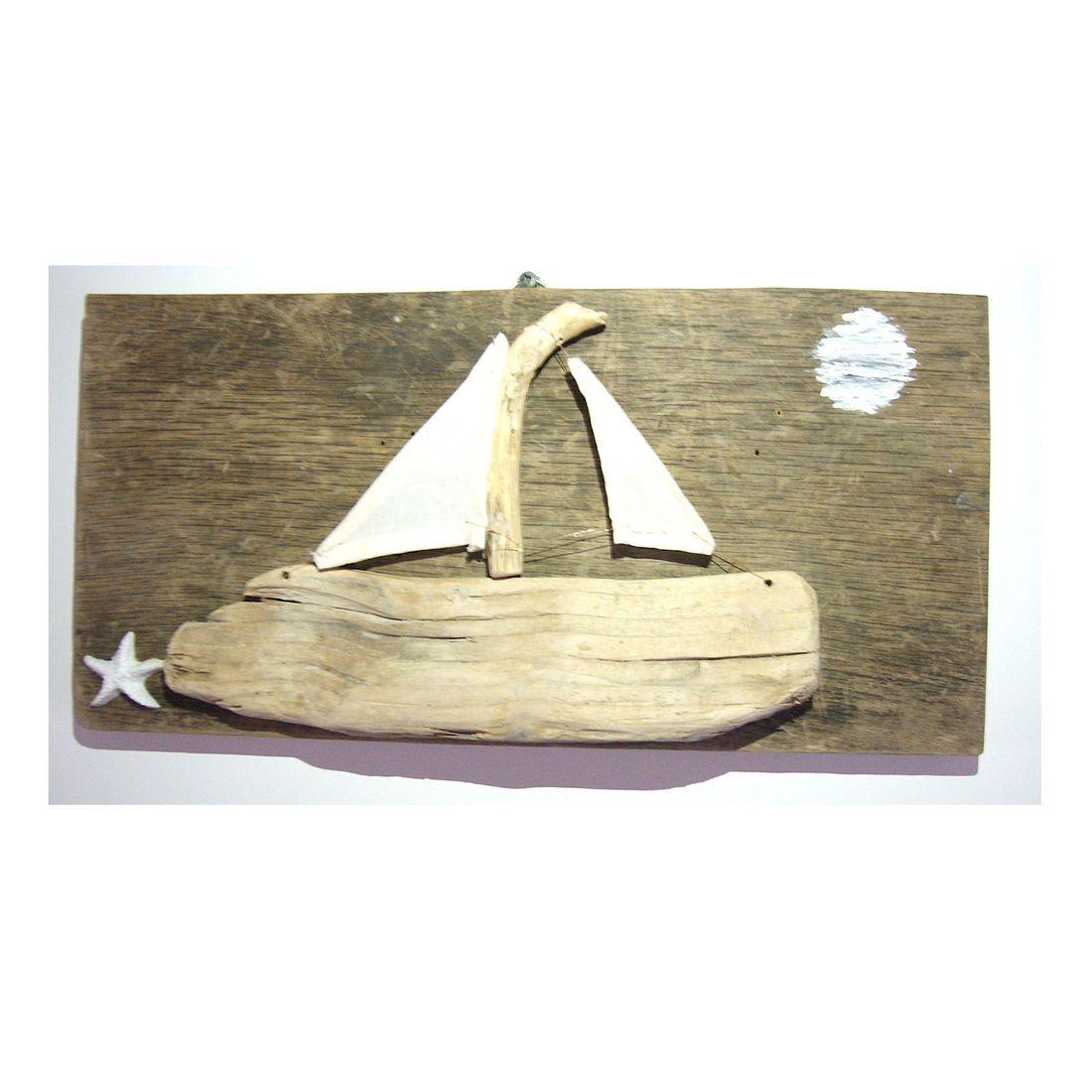 Driftwood boat 3