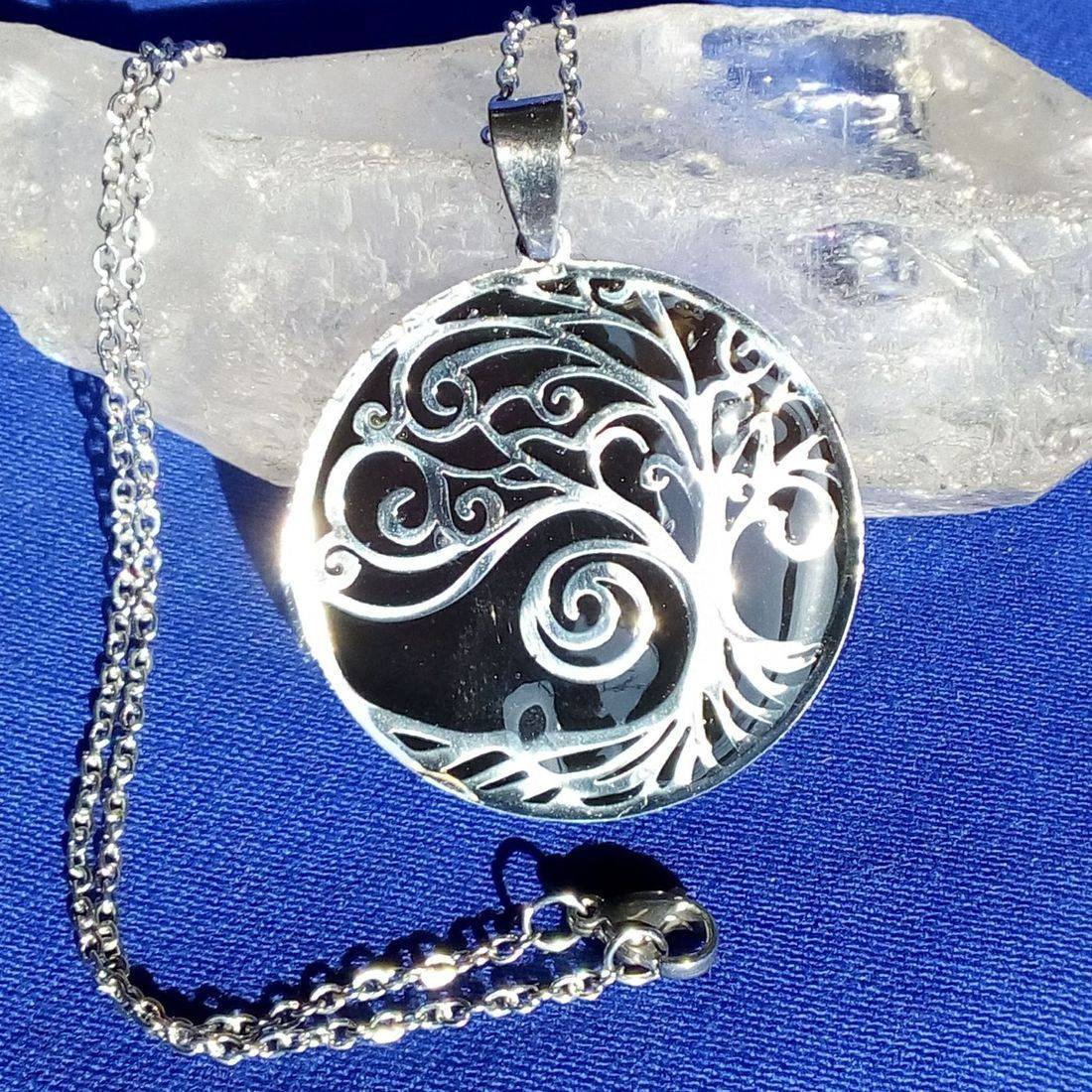 Swirly Shungite Tree of Life
