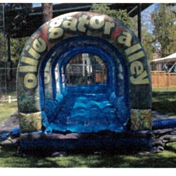 Ollie Gator Single Lane Slip-n-Slide 10'x30'