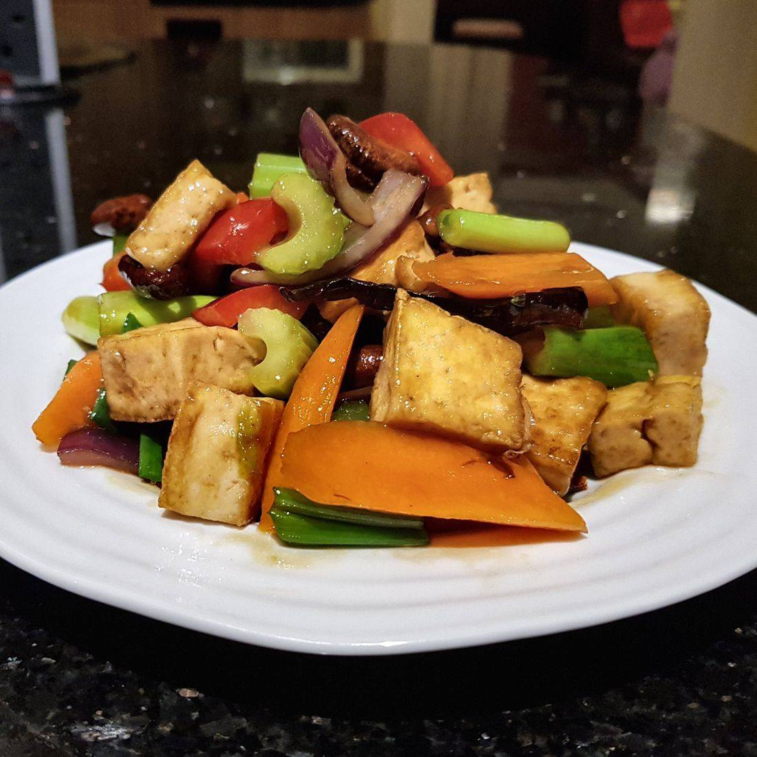 Cashewnut with tofu