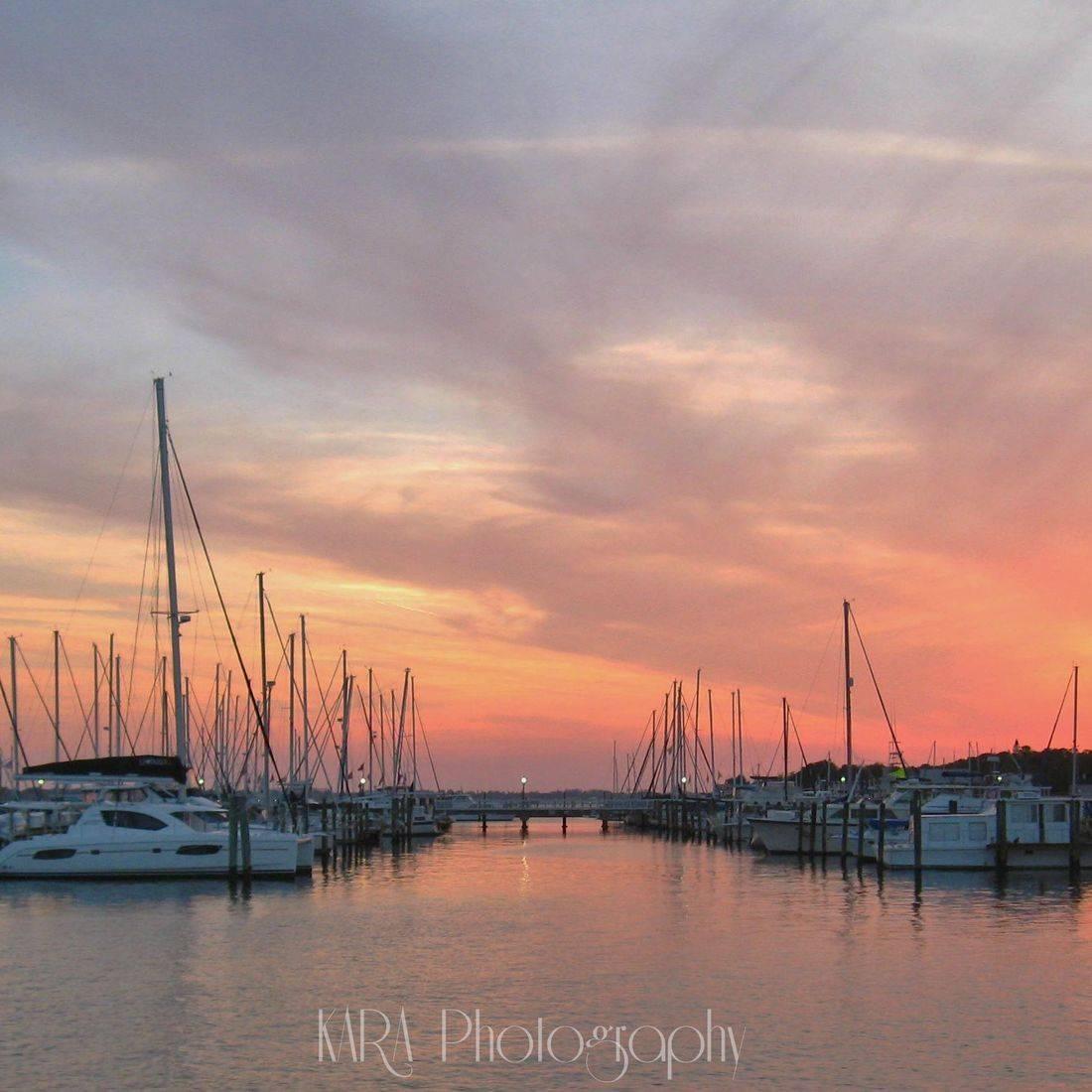 Palmetto, Florida, Sunset, Marina, Gulf of Mexico