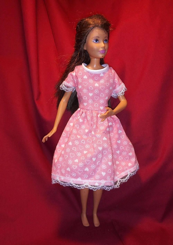 Barbie Dress, Barbie Wardrobe, Handmade Doll Clothes, Barbie Wardrobe