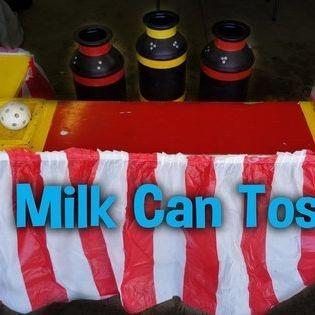 Milk Can Toss