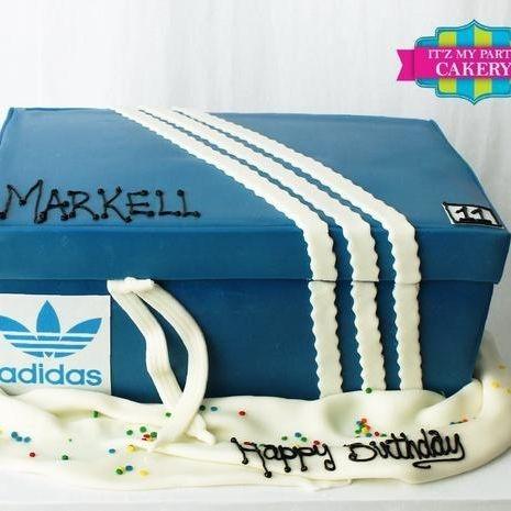 Adidas Shoe Box Dimensional Cake Milwaukee