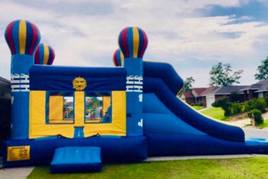 Balloon bounce house waterslide combo Inflatable Rental