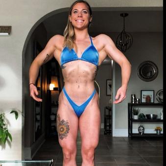Figure/physique practice suit