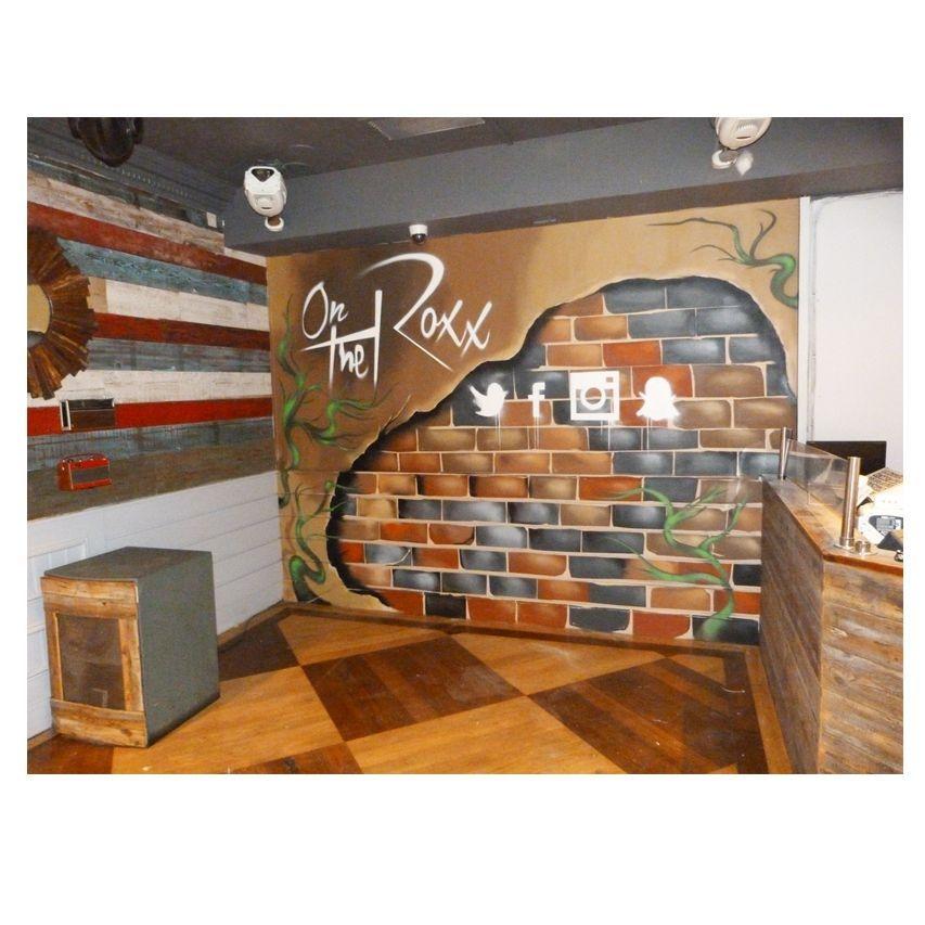 Étterem falfestmény