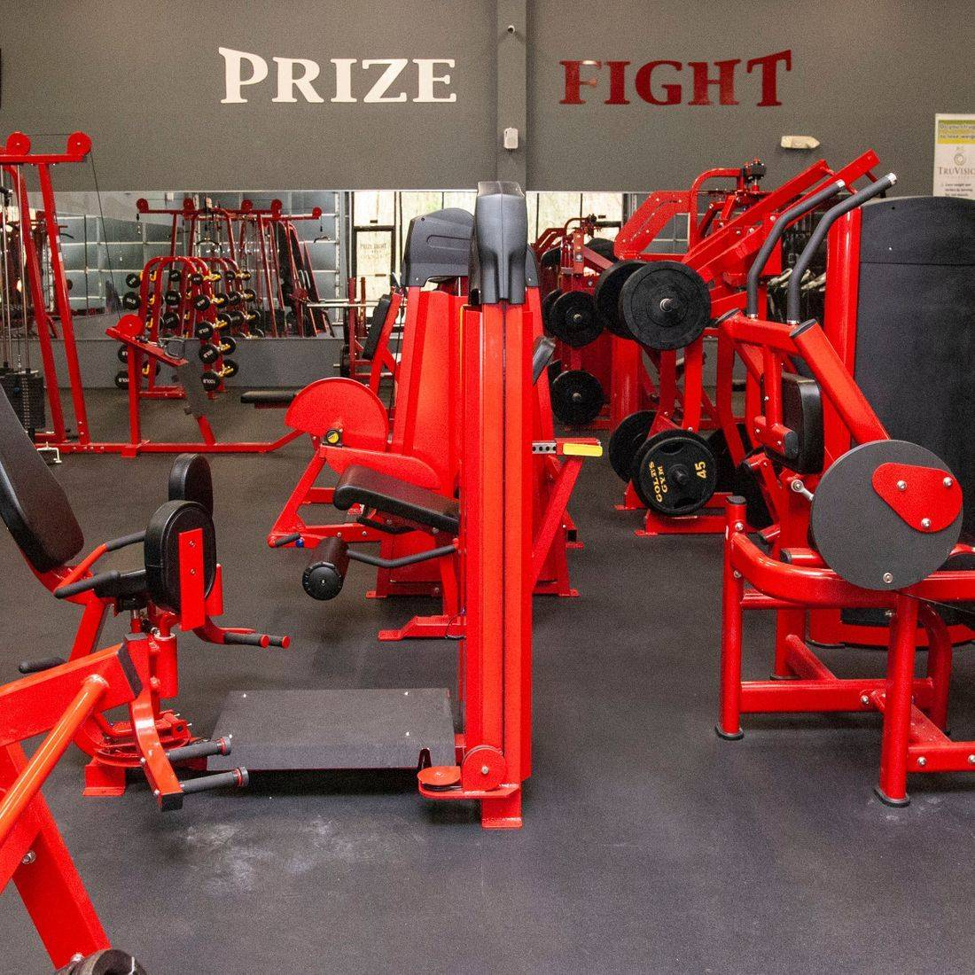 Prize Fight Fitness Silerback Strength gym equipment