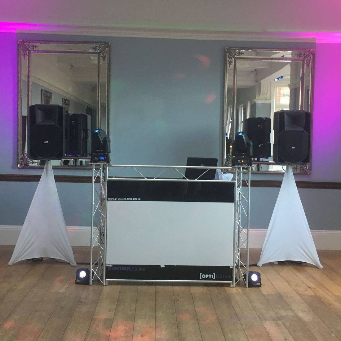 Staffordshire Wedding DJ Pendrell Hall StaffordshireDJ