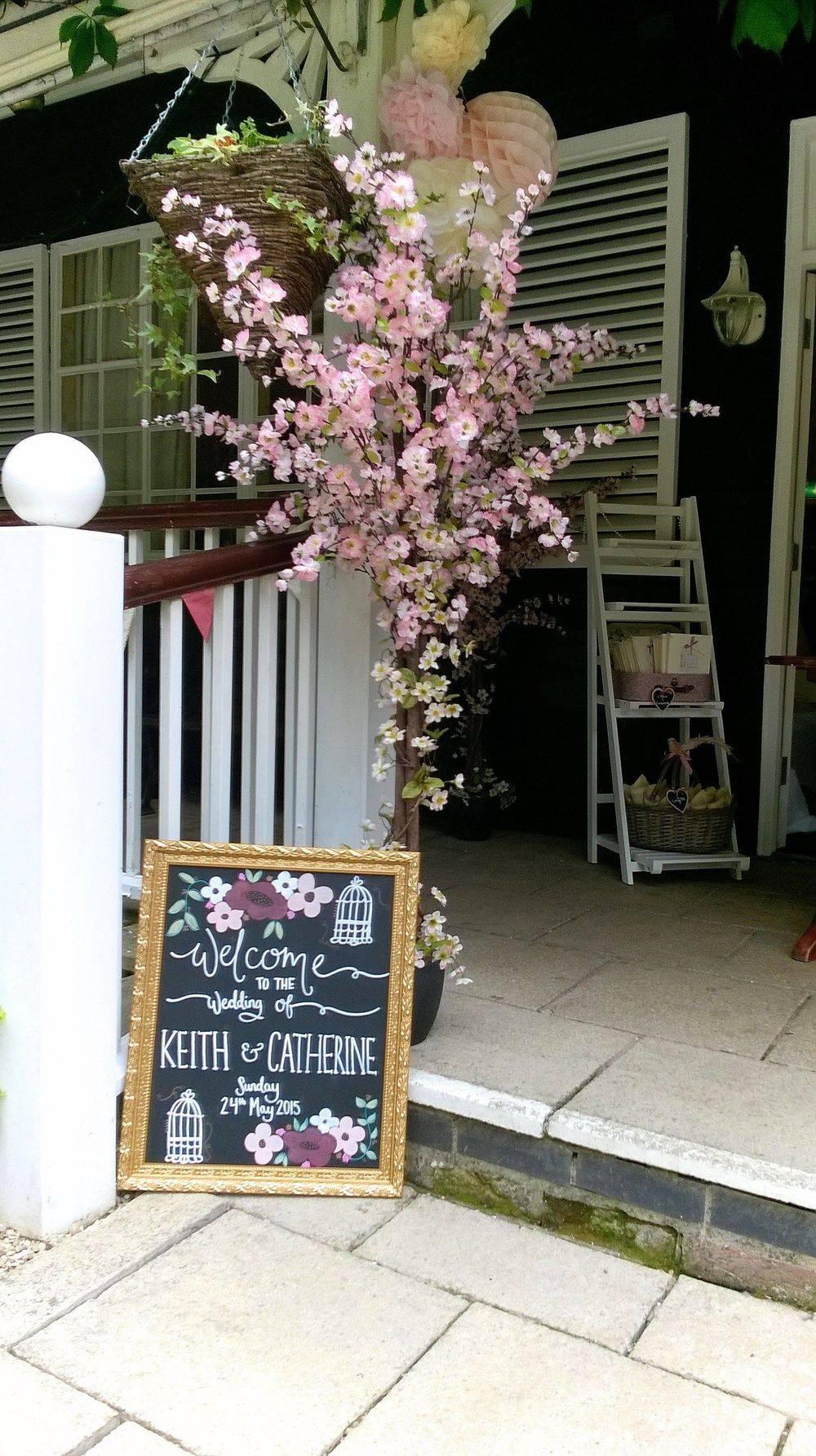 Blossom Trees Hire Weddings Wedding Flowers Suffolk Susan Jane May