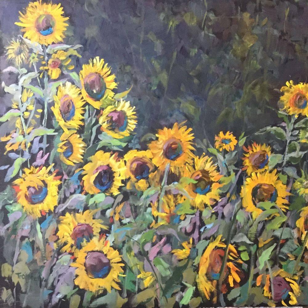 ATrombetta - Oil - Sun Field - 24x18 - $400