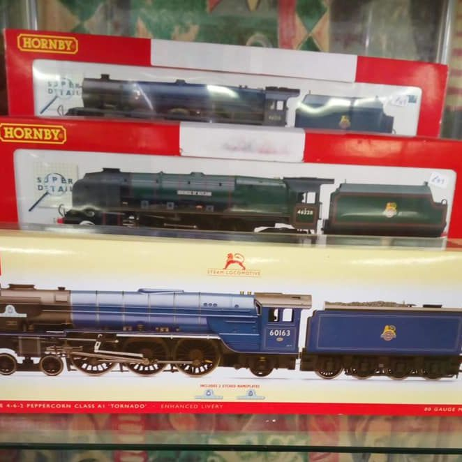 seconhand model trains hythe