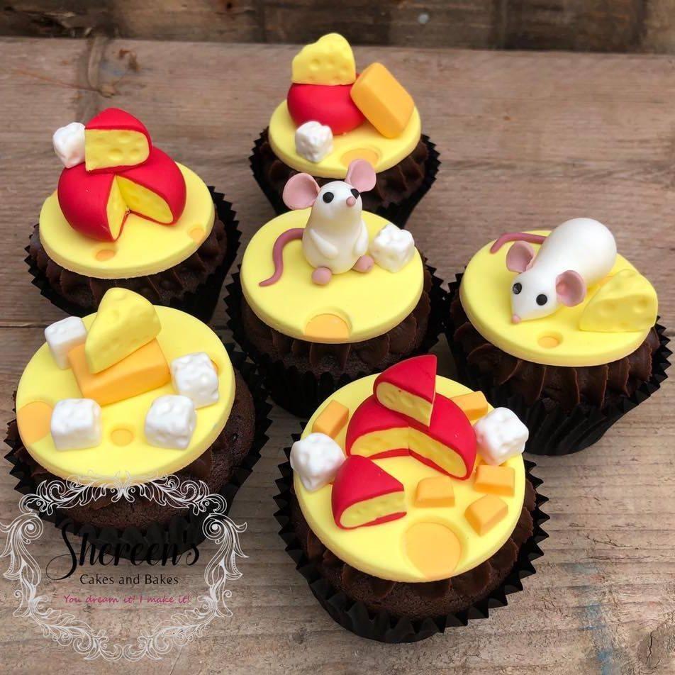 mouse mice cheese cupcake cheddar feta gouda sweetmilk