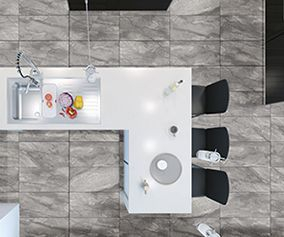 Bellini Light Grey 60x30