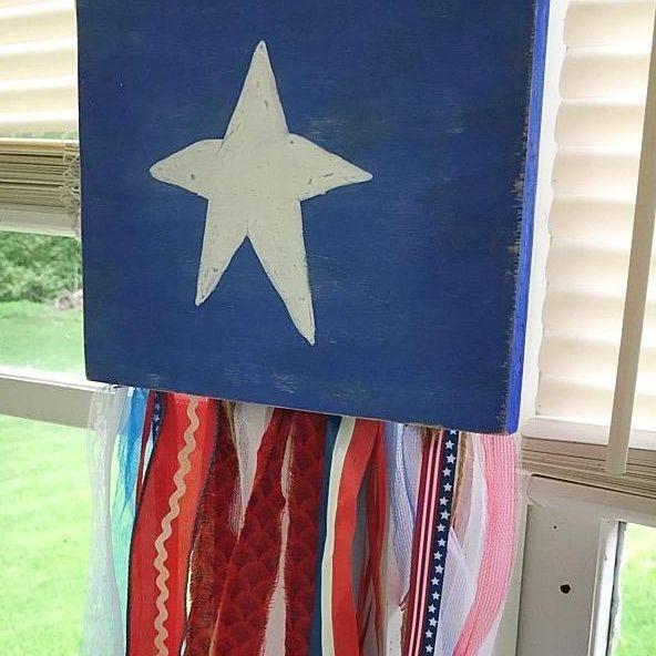 shabby flag