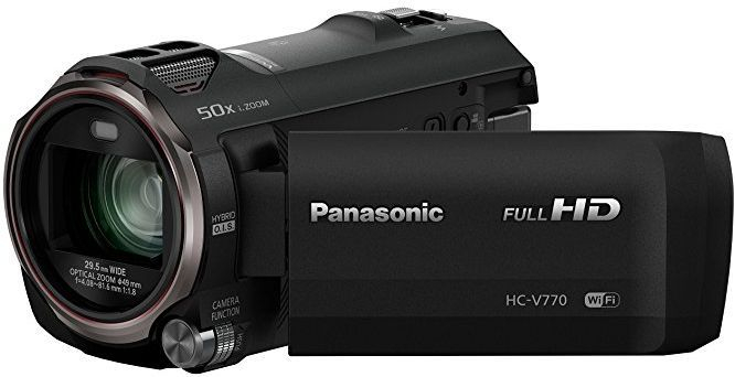 Panasonic HC-V770 No Picture