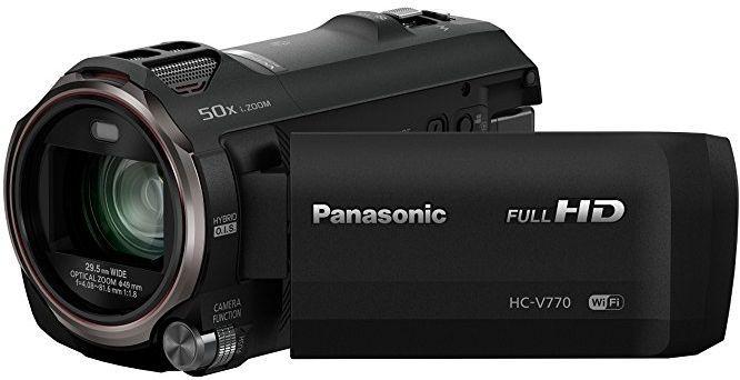 Panasonic HC-V770 No Picture