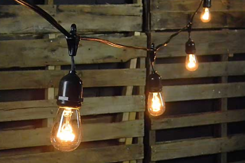 Outdoor  Bistro Lights