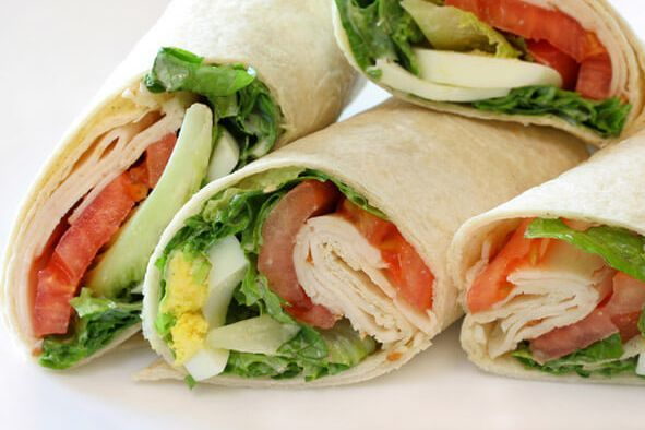 Sandwich  and Wrap Platter