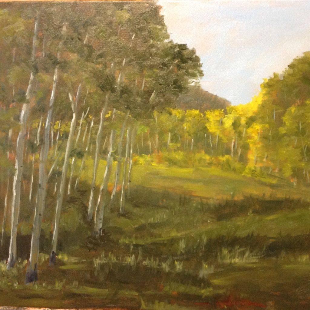 Aspen, Colorado, Gunnison, Soap Creek, Western Art, Sunlight