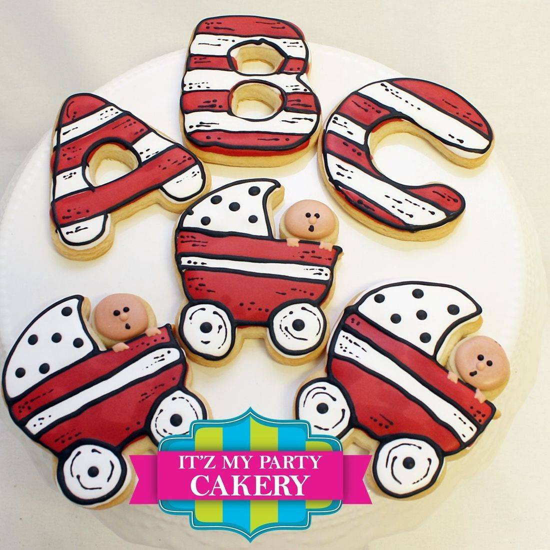 Dr Seuss Baby Carriage Letter Cookies Milwaukee