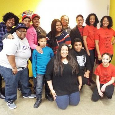 Annual Thanksgiving dinner at Center on Halsted-2016