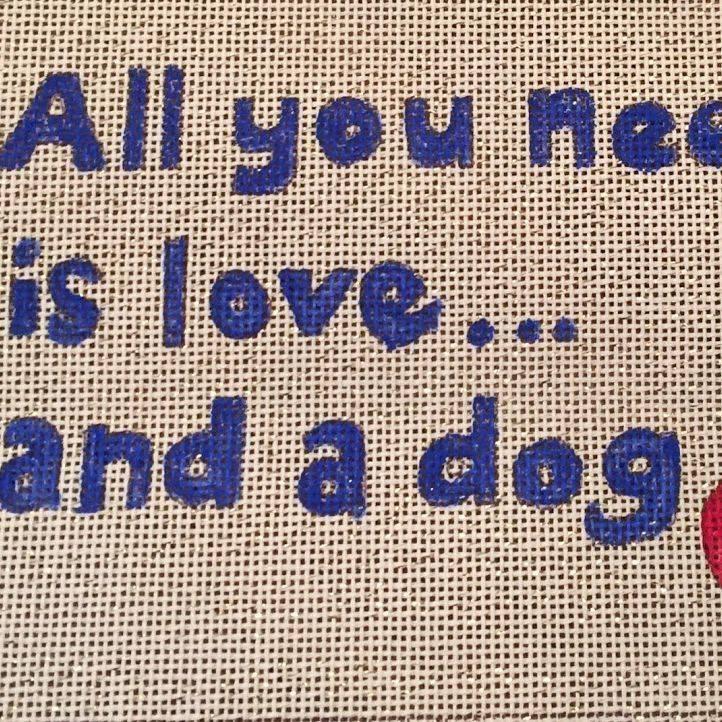 Love Dog Sampler Paw