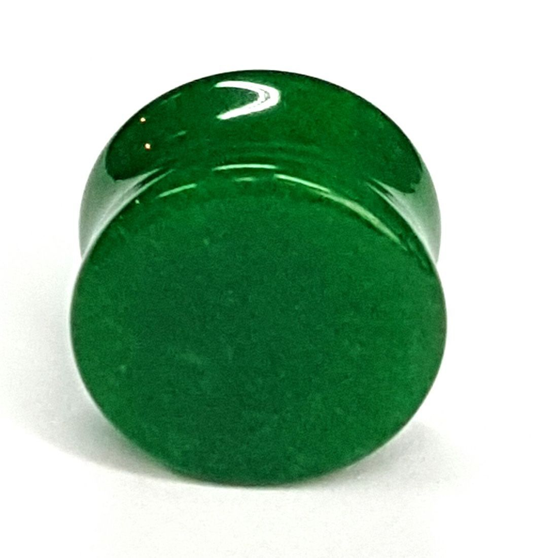 Green Quartz stone plug  available at Kazbah online and our Leicester City Centre store