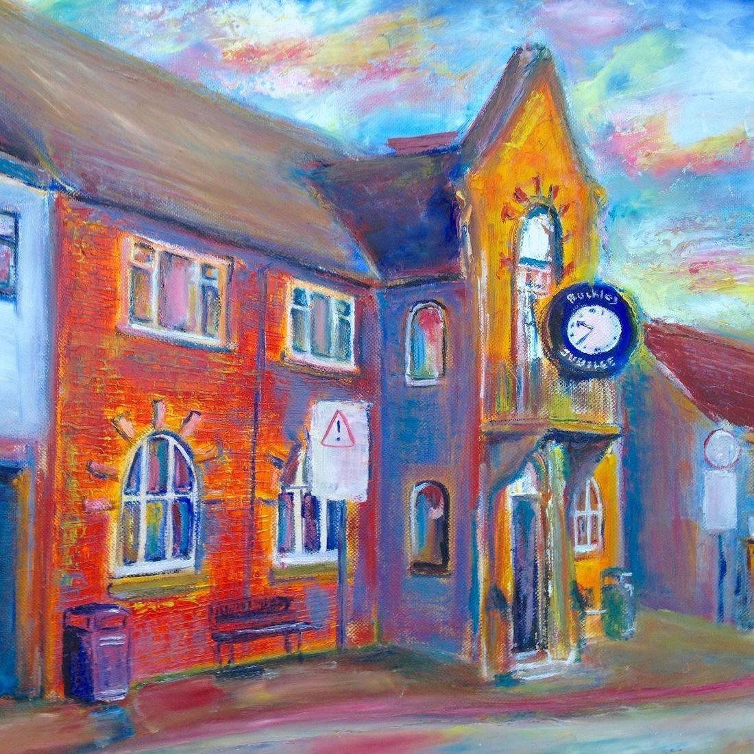 Buckley Clock, Flintshire