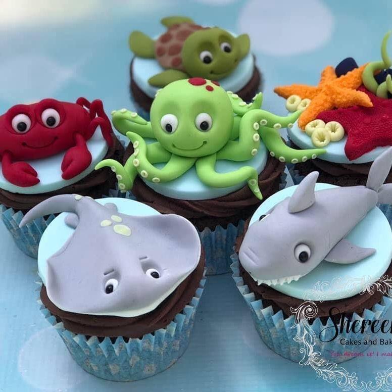 Under Sea Cupcakes