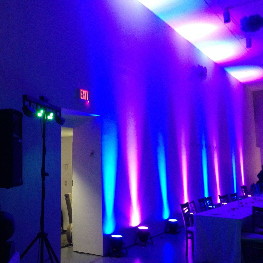 Uplighting at the Art Gallery of Hamilton