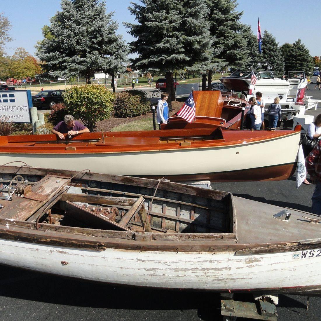 Bergersen Boat Co.  restoration of Gould Boat Restoration