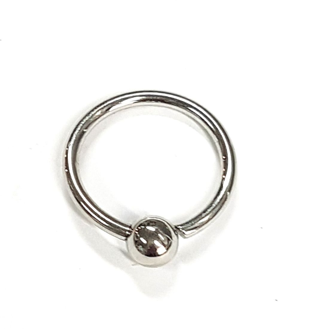 Titanium body jewellery,  larger gage rings horseshoes barbells all available from Kazbah Leicester and Kazbah Online