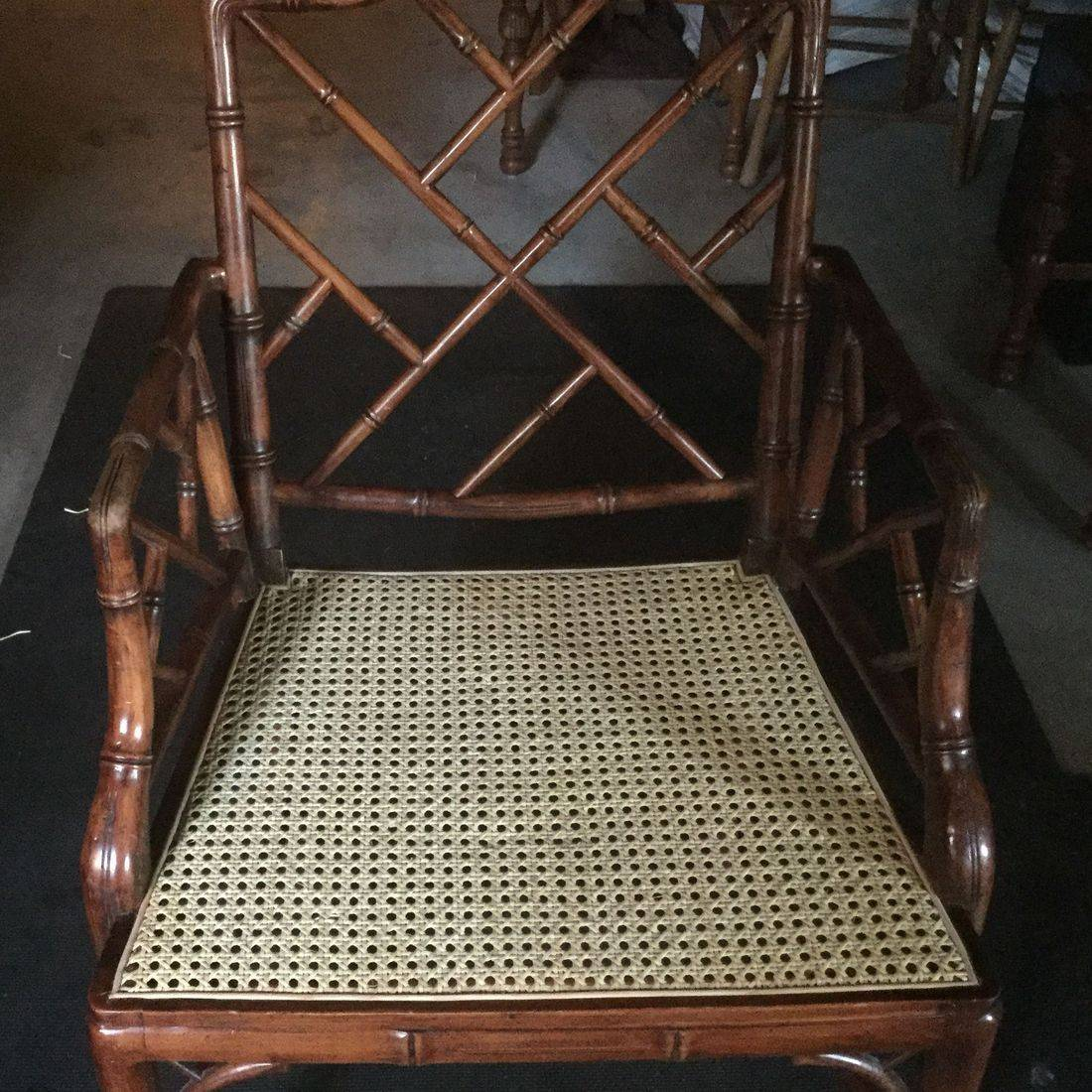 Pressed Cane or Cane Webbing done by Hank's Cane & Rush Restoration